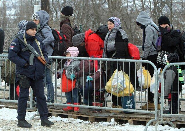 Евростат: в предыдущем году вЕС дали убежище неменее полумиллиону беженцев