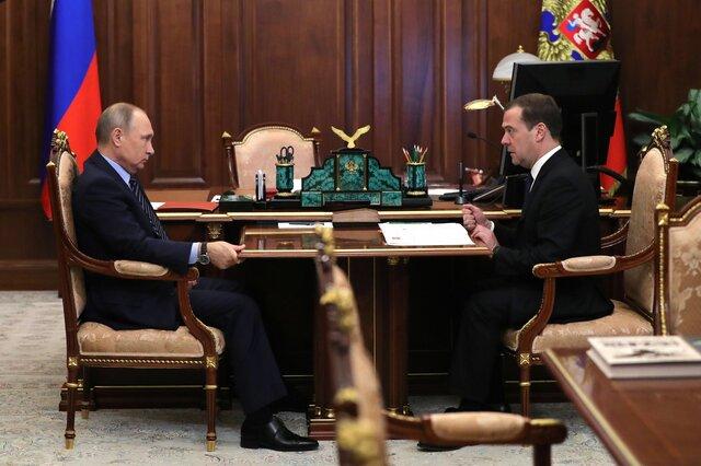 Медведев представит Путину претендентов  вминистры 18мая