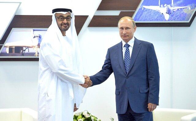 Наследный принц Абу-Даби протестировал новый лимузин В.Путина