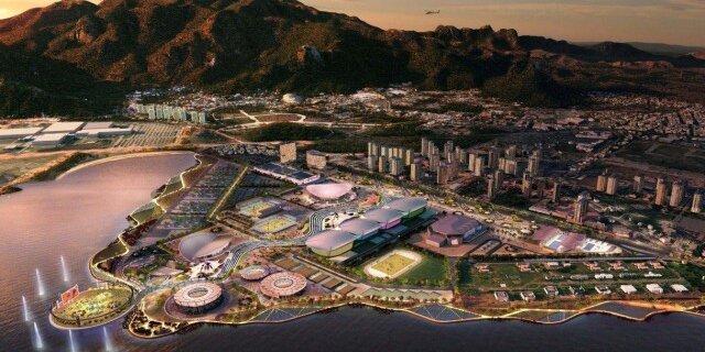 Проект Олимпийского парка в