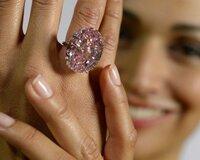 Sotheby's продаст редчайший бриллиант Pink Star